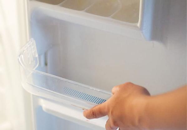 Боковая дверца холодильника - оптимальное место для хранения цитокининовой пасты